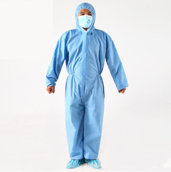 Protective Suit Waterproof Dustproof Overalls Safety Clothing Safety Protective Reusable