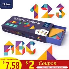MiDeer Children's Creative Jigsaw Puzzle Toys for Children  Mental Development Tangram Wooden Educational Toys for Kids  > 6Y стоимость