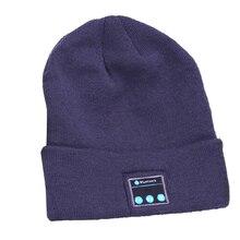 Мужская Bluetooth-гарнитура, вязаная шапка, совершенно новая и высококачественная, деловой стиль, с ушным крючком, стерео Bluetooth-гарнитура
