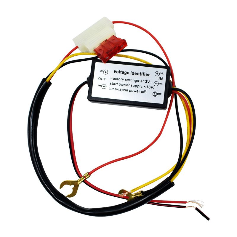 Smart Car Light Delay Controller LED Time-lapse Power Off Daytime Running Controller Delay Line Dimming Car Accessories
