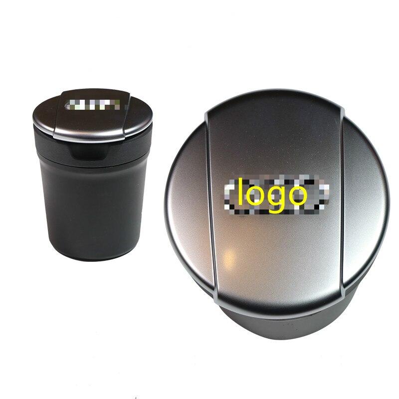Cendrier de voiture accessoires de voiture cendrier voiture poubelle tirelire pour Audi A3 8 V/A4 B8 B9/A6 C5 C6 C7/A7/Q5/A5/A8 8V0857951