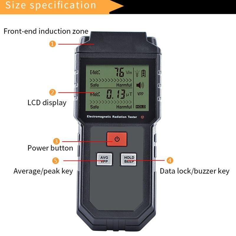 dosímetro digital do contador do medidor do