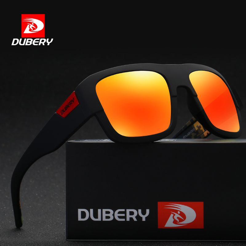 New Men Women Polarized Sunglasses Sport Black/&Red Frame Eyewear Driving Glasses