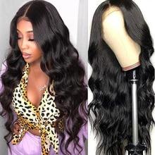 Perruque Lace Closure Wig Body Wave brésilienne naturelle – Beaushine Hair, 4x4, pre-plucked Frontal, 250% de densité