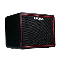 Nux mighty lite bt mini amplificador de guitarra bluetooth desktop portátil multifunções amplificador guitarra com máquina tambor elug ue
