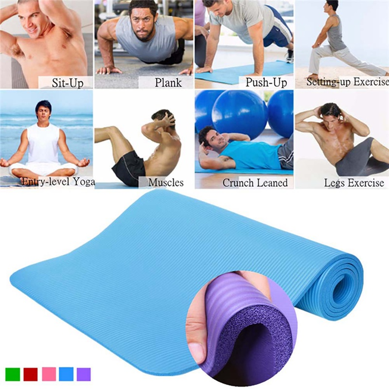 173*60*0.4cm Thickess EVA Non-Slip Yoga Mat Sport Gym Soft Pilates Mats Foldable For Body Building Fitness Exercises Equipment*