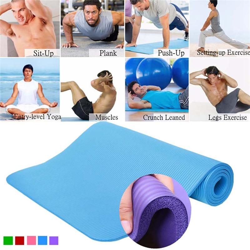 173*60*0.4cm Thickess EVA Non-Slip Yoga Mat Sport Gym Soft Pilates Mats Foldable For Body Building Fitness Exercises Equipment*