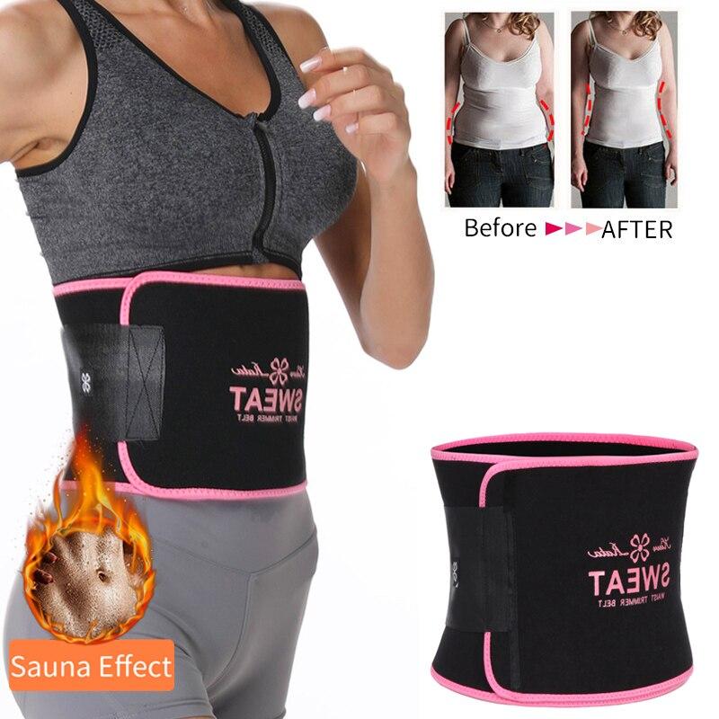 Men /& Womens Fat Burning Sweat Waist Trimmer Shapers Sauna Waist Trainer Thermo
