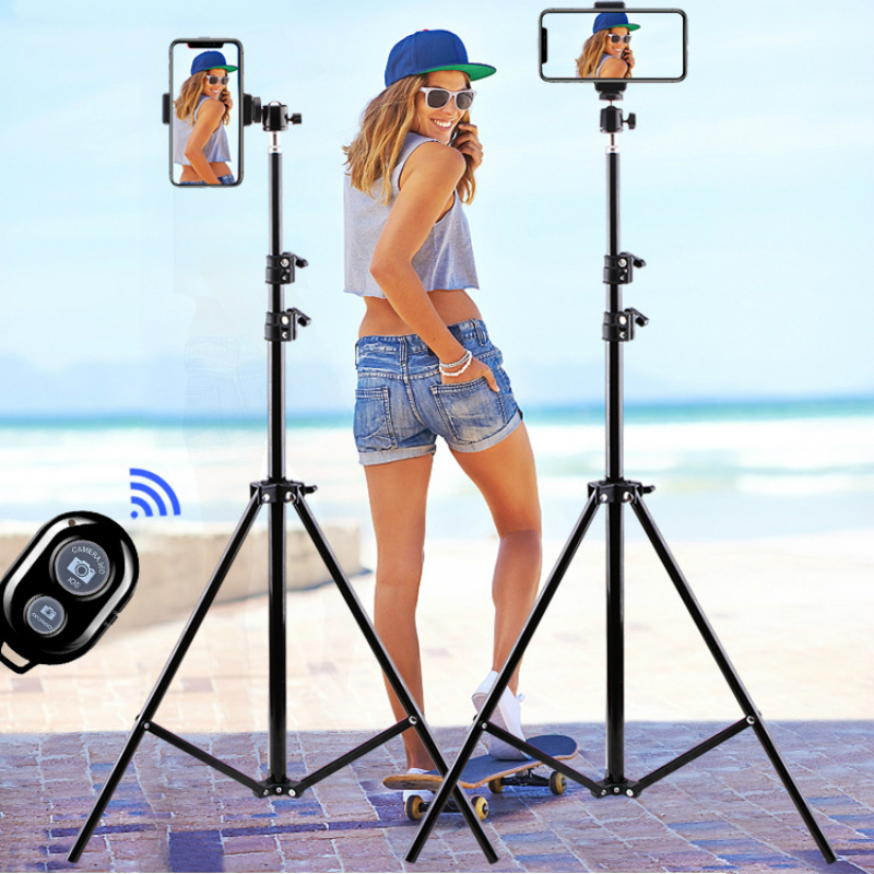 Universal Selfie With Flexible Mobile Phone Holder Lazy Bracket Desk Lamp Stand For Tik Tok Live Stream Office Kitchen Bluetooth