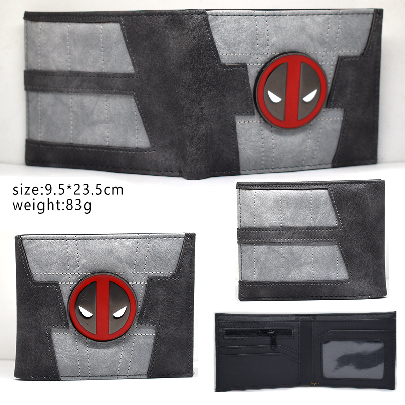 font-b-marvel-b-font-comics-deadpool-logo-purse-cartoon-anime-dead-pool-wallet-carteira-masculina-dollar-price-fashion-men-pvc-short-wallets