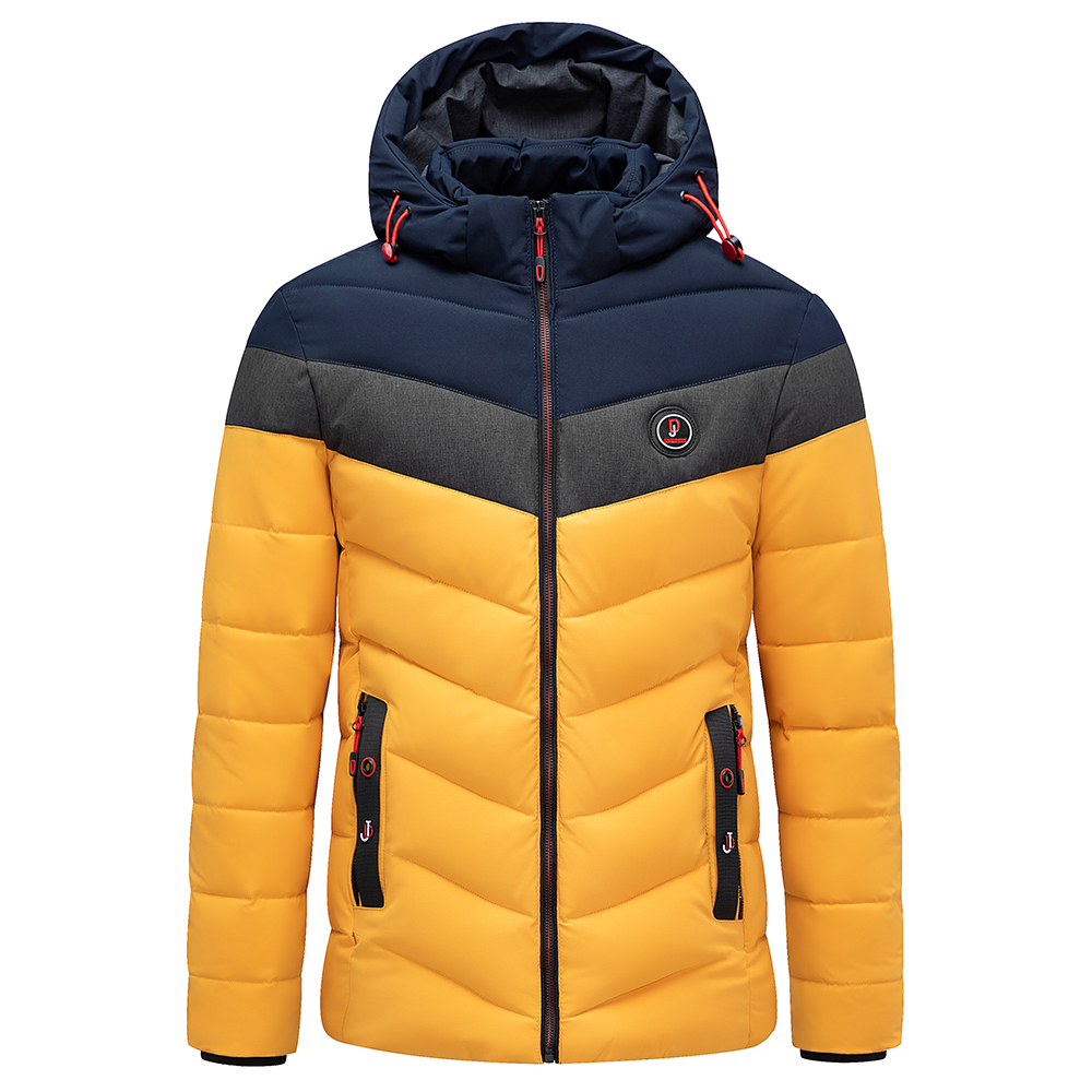 Men 2020 Winter Brand New Casual Warm Thick Waterproof Jacket Parkas Coat Men New Autumn Outwear Windproof Hat Parkas Jacket Men 2