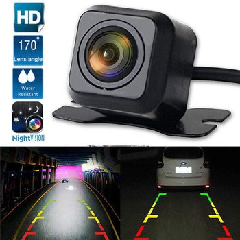 Rear View Camera for Car HD Universal no-light Night Vision 170 Degree Angle plug-in Car Reverse Parking Camera + 6M Video Cable