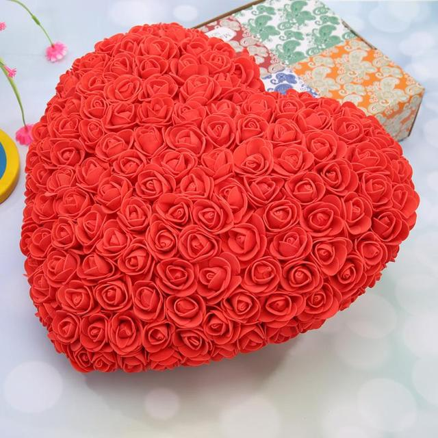 Heart of Roses Artificial Flowers Home