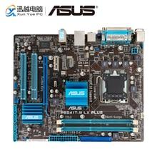 Asus P5G41T M LX PLUS Masaüstü Anakart G41 Soket LGA 775 Çekirdek 2 Duo DDR3 8G SATA2 VGA uATX orijinal Kullanılan Anakart