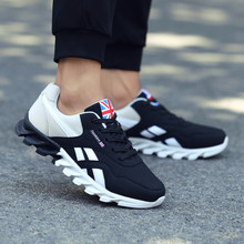 Hot Sale Mens Shoes Casual Mesh Breathable Men Sneakers Flat Lightweight Non-slip Comfortable Plus Size 39-48