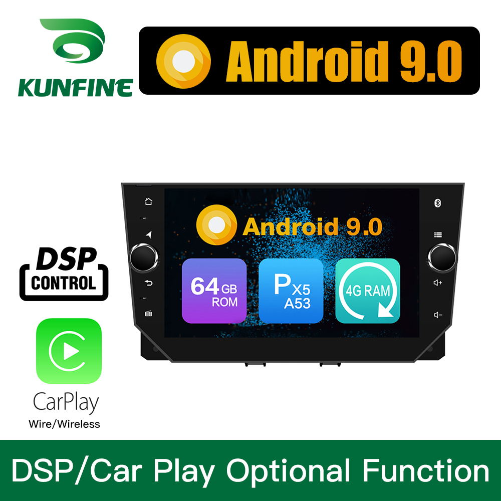 Android 9.0 Octa Core 4GB RAM 64GB Rom Car DVD GPS Multimedia Player Car Stereo for <font><b>SEAT</b></font> <font><b>IBIZA</b></font> <font><b>2018</b></font> 19 Deckless <font><b>Radio</b></font> Headunit image