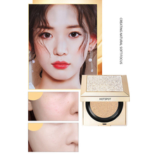 Diamond  Air Cushion BB Cream Foundation Whitening Sunblock Korean Cosmetics