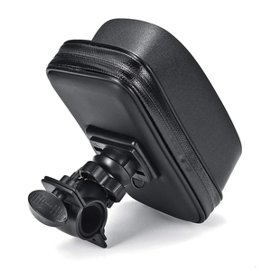 Image 4 - 방수 자전거 오토바이 휴대 전화 가방 홀더 사이클링 rearview 핸들 바 케이스 전화 지원 GPS 마운트 아이폰 8P XS
