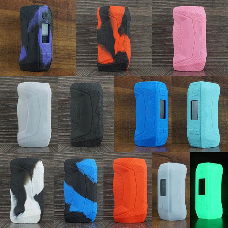 High Quality Silicone Protective Gel Skin Case Cover For Geekvape Aegis Mini title=