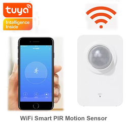 Wifi Smart PIR Motion Sensor Alarm Tuya Smart Life APP Remote Control USB Power Mini Alarm Smart Home Detector Security System