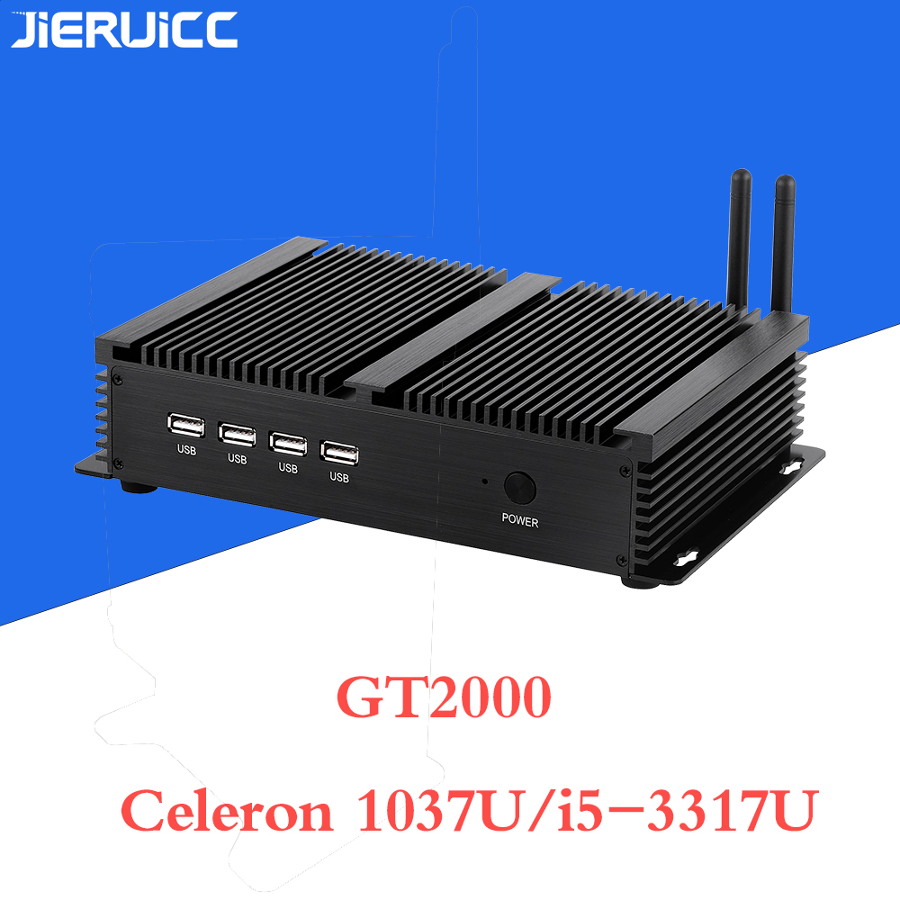 Intel Celeron 1037u fanless industrial mini pc for game machine fanless embedded mini box pc $165.50 - $198.50 Windows XP OS image
