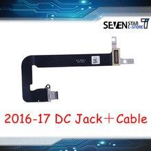Gouzi USB-C placa de conector dc no cabo de tomada de alimentação 821-00828-a 821-00482-a para macbook retina 12