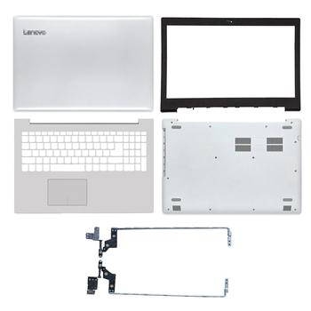 Nowość w Lenovo IdeaPad 320-15 320-15IKB 320-15ISK 320-15ABR tylna pokrywa Lcd przednia ramka podparcie dłoni dolna obudowa zawiasy białe tanie i dobre opinie KNYORO Pokrowce na laptopa CN (pochodzenie) Pokrywa wymienna do laptopa Unisex For lenovo ideapad 320-15 series Bez suwaka