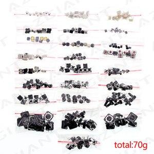 Image 1 - 250ピース/バッグ25*10個車リモート制御ボタンスイッチボタンパッケージパッチタクトスイッチボタンパッケージ4*4 3*6 3*4ボタン