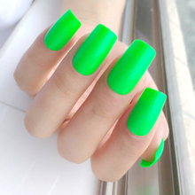 False-Fingernails Artificial-Fake-Nails Tips Manicure-Tool Design Full-Cover Long