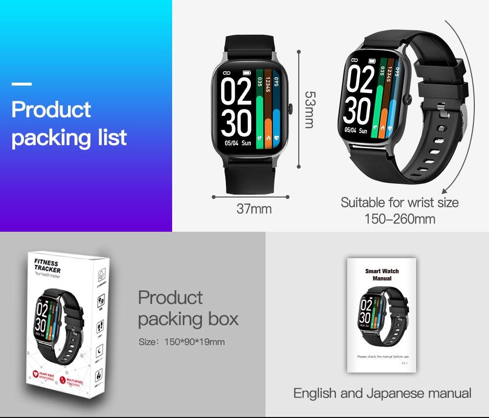 masculino fitness trackers relógios femininos para ios android