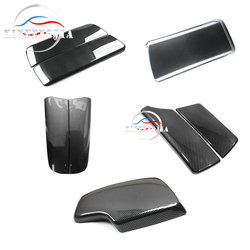 For BMW 3 4 5 7 Series 3GT 5GT 6GT X5 X6 Carbon Fiber Color Car Center Armrest Box Protective Cover Auto Seat Arm Rest Box Cover