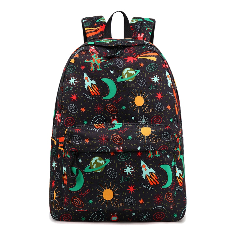 School Bags, Galaxy Student Backpack Unisex School Bag Travel Casual Rucksack