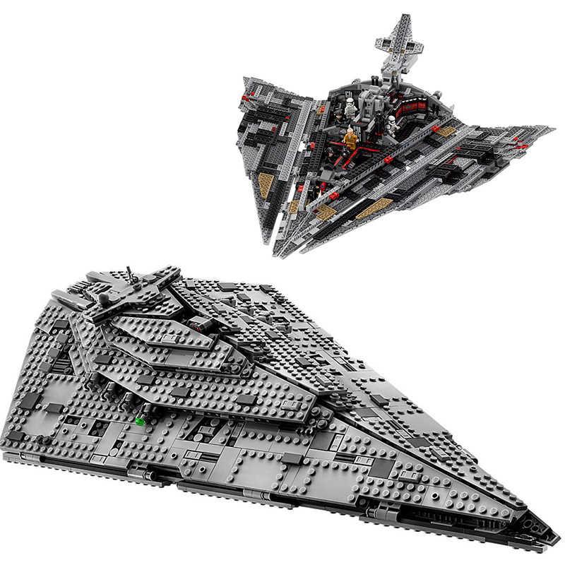 В наличии Звездные войны Серия IX строительные блоки кирпичи Звездные войны фигурки игрушки 75021 10240