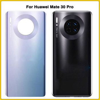 10pcs Original  For Huawei Mate 30 Pro mate30 pro Battery Cover Rear Glass Door Housing Case With Lens Glass