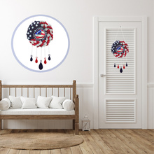 Independence Day Wind Chime Creative Wind Chime Delicate Home Office Wind Chime