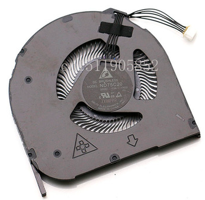 Free Shipping ND75C20-17E33 5V 0.5A  Built-in Turbine CPU Cooling Fans