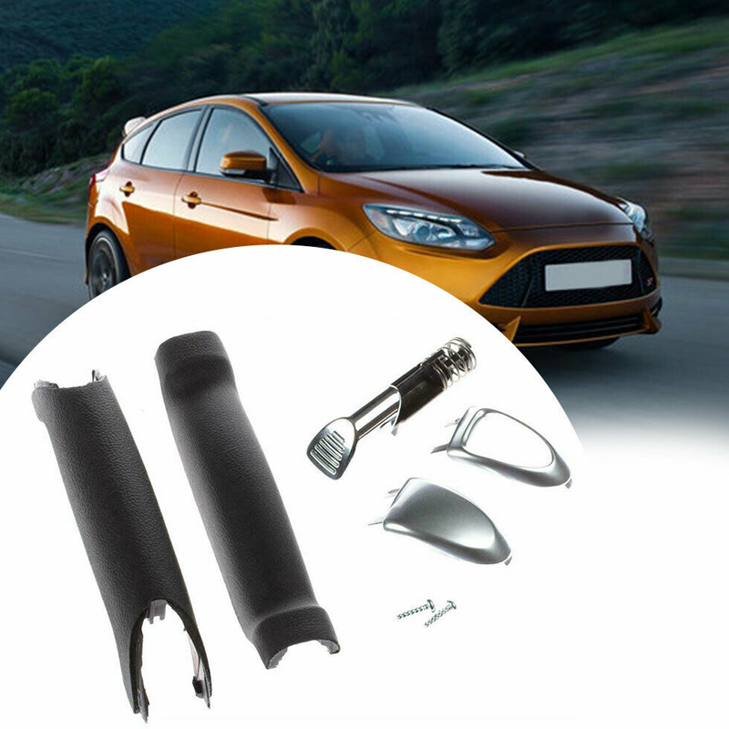 Handbrake Handle Repair Kit Soft Feel Parking Hand Brake Stop Handle For Ford Galaxy S-Max Car Styling