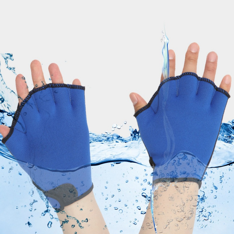 Surf Diving Snorkeling Gloves Swimming Training Water Aerobics Resistant Gloves Water Aerobics Jogger Swimming