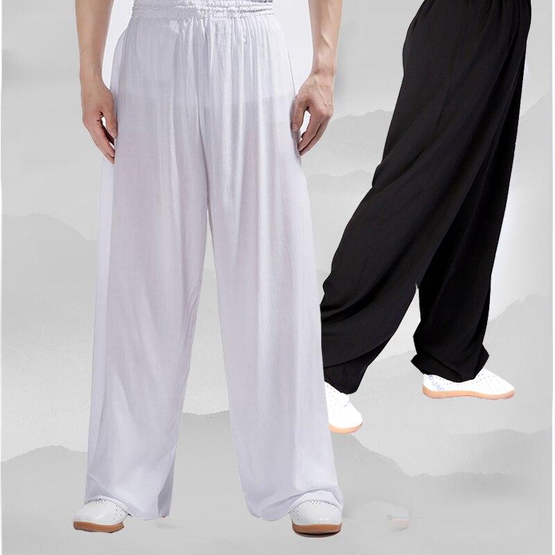 Yiwutang Chinesische kampfkunst baumwolle Tai chi hosen Kung fu uniform Wushu kleidung und Kung fu hosen für männer und frauen