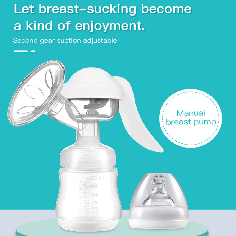 Breast Pump Manual Large Cylinder Set Milk Maker Pull Milk Nursing Pumping Milk Prolactin Breast Pump Maternal Sup