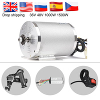 36V 48V 1000W BLDC Motor Electric Bike Brushless Motor For Bicycle Conversion Kit Controller Reverse Twist Throttle E scooter