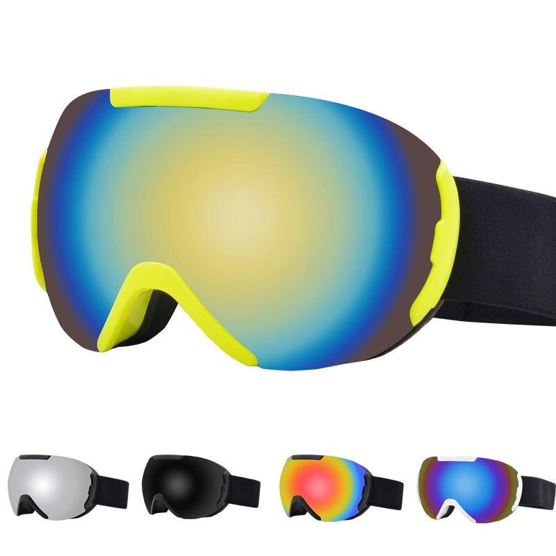 New Double Layer Polarized Lens Ski Goggles Anti-fog UV400 Skiing Snowboard Goggles Men Women Ski Glasses Eyewear