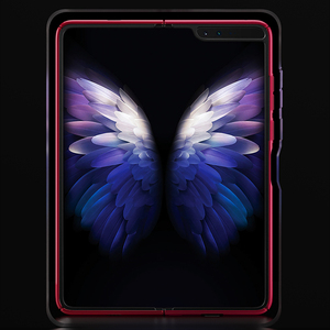 Image 5 - For Samsung galaxy Fold 5G Case Luxury Slim Matte Plastic Hard Phone Case For Samsung Galaxy Fold Full Protective Cover