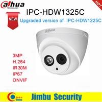 داهوا IP كاميرا 3MP IPC-HDW1325C H.264 IP67 كاميرا تلفزيونات الدوائر المغلقة IR 50 M مراقبة شبكة كاميرا بشكل قبة ONVIF