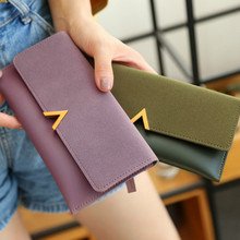 2020 Leather Women Wallets Hasp Lady Moneybags Zipper Coin Purse Woman Envelope Wallet Money Cards ID Holder Bags Purses Pocket tonuox women wallets cute dogs animal pattern casual lady coin purse pocket handbags long moneybags wallet pouch dog purses bags