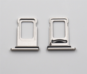 Image 4 - 10set/lot Dual Sim Card Reader connector Flex Cable + Sim Card Tray Slot Holder For iPhone 11