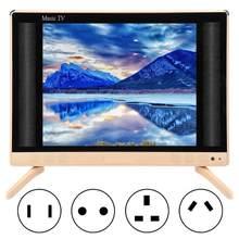 Tv led 22 Polegada alta definição lcd tv portátil mini televisão com qualidade de som baixo 110-240 v eua/au/ue/uk plug