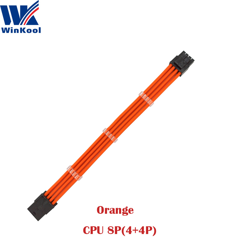 WinKool_Orange_EPS_CPU_8P_Extension_Cable