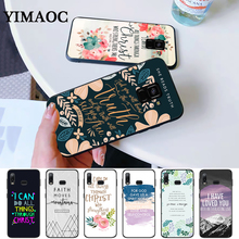 christian bible quotes jesus Silicone Case for Samsung A3 A5 A10S A30S A50S A6 Plus 2018 A7 A8 A9 A10 A30 A40 A50 A60 A70 J6