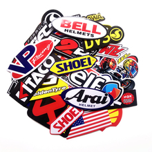 40pcs/set Cartoon Stickers Motorcycle Decals for Motorcycle Helmet Laptop Suitcase Skateboards